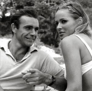 Sean-Connery-and-Ursula-Andress-Dr-No-Rolex-Submariner-Big-Crown