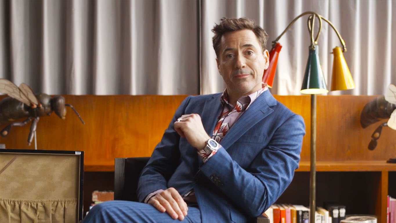 Robert Downey Jr and his watches
