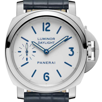 Panerai Luminor Daylight 8 Days Acciaio