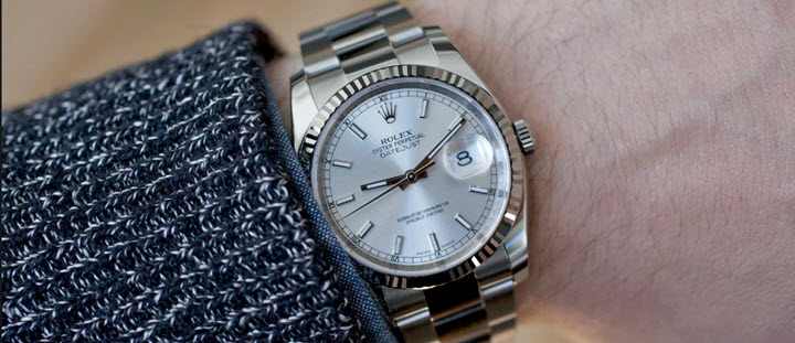 Rolex Ladies Datejust 31 Mid Size Watch