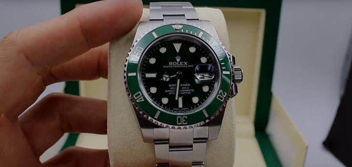 Rolex Submariner Green Ceramic Review
