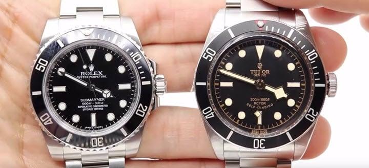 Comparison Rolex Submariner Vs Tudor Heritage Black Bay Jaztime Blog