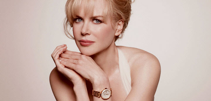 Nicole Kidman Omega Ladymatic Luxury Swiss Watch
