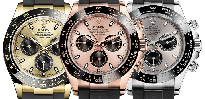 New 2017 Rolex Daytona Gold, Ceramic, Rubber REVIEW