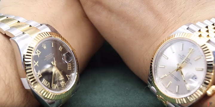 Rolex Datejust Ii On Wrist