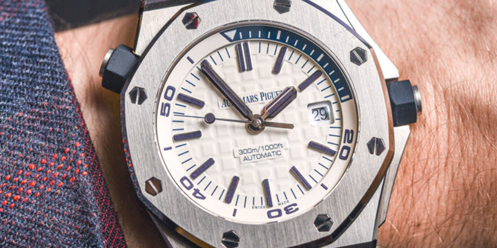 Audemars Piguet SIHH 2017 Royal Oak Chronograph Diver NEW REVIEW