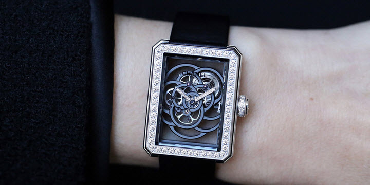 Chanel Premiere Camellia Skeleton Caliber 2 Review