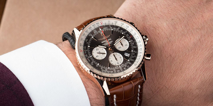 Breitling Navitimer Rattrapante RB031121 Rose Gold Watch Review