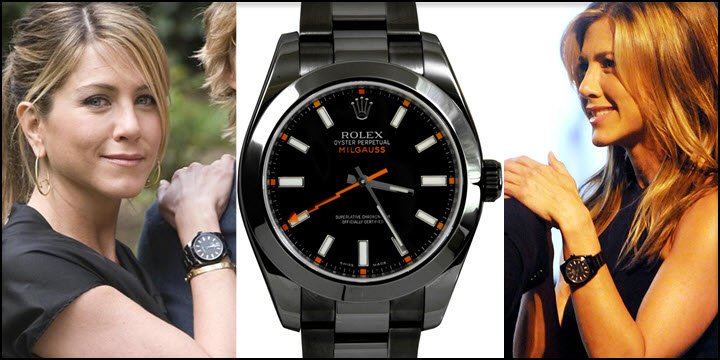 What rolex watches does jennifer aniston wear jaztime blog for Woman celebrity watches