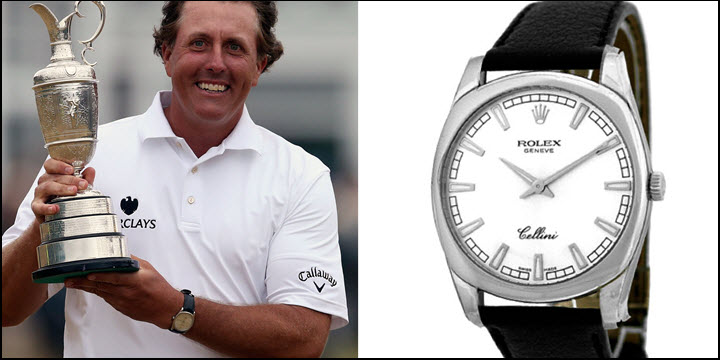 What Rolex Does Phil Mickelson Wear Jaztime Blog