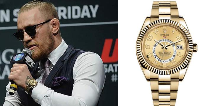 Which Rolex Watches Does Conor Mcgregor Wear Jaztime Blog