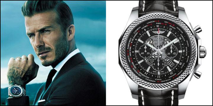 David Beckham Breitling Transocean Chronograph Unitime REVIEW