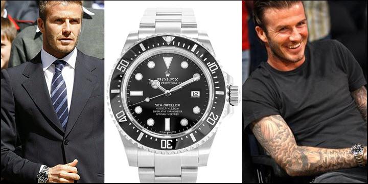 David Beckham Rolex Sea-Dweller Deepsea 116600 Ceramic Bezel Black Review