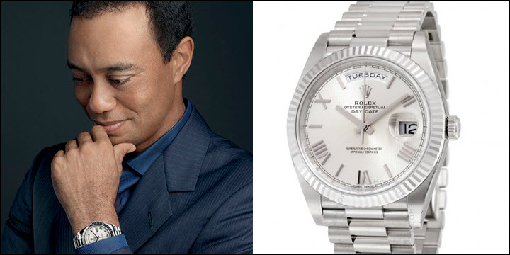 What Rolex Does Tiger Woods Wear Jaztime Blog