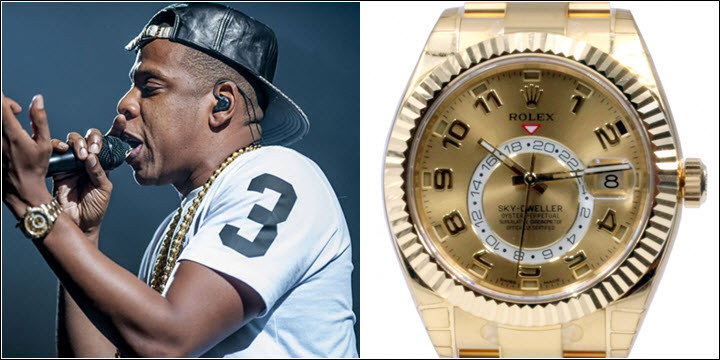 Which rolex watches do rappers wear jaztime blog for Rapper watches