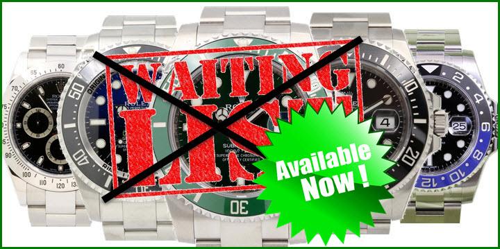 Skip The Rolex Waiting List Fur All Models Jaztime Blog
