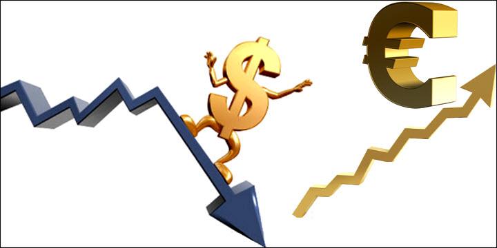 Dollar Exchange Rate falling
