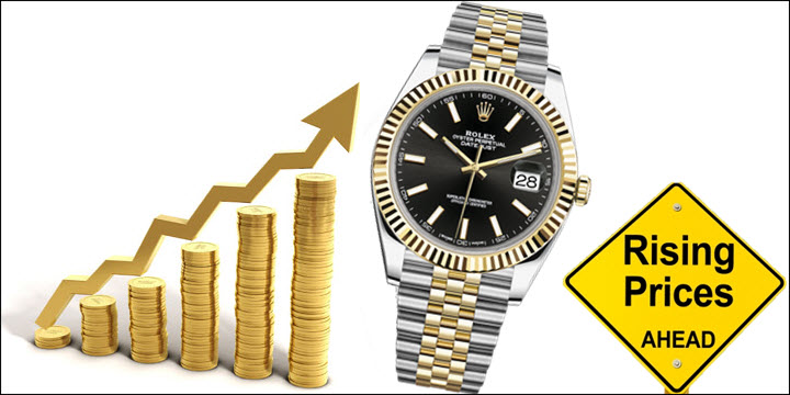 Warning Rolex Prices Are Rising Find Out Why Jaztime Blog