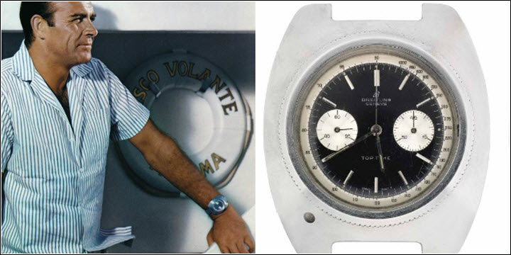 Breitling Top Time James Bond Thunderball Review Vintage