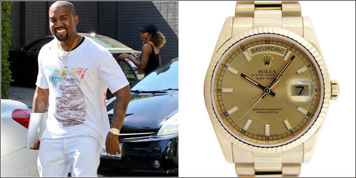 Rolex Day-Date II 2 President 18k Yellow Gold Kanye West Rappers Review