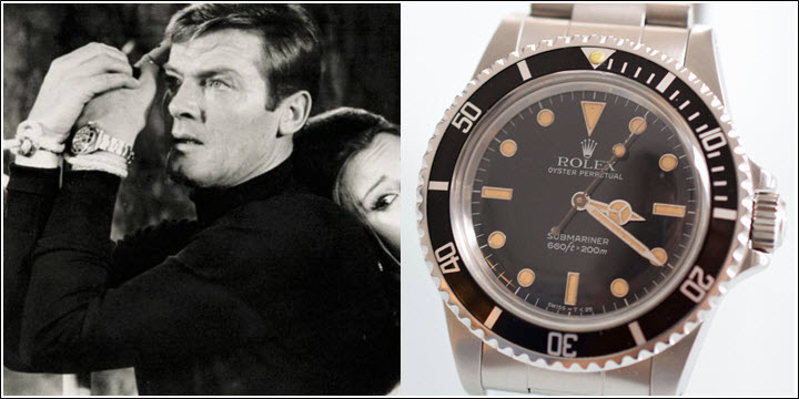Rolex Submariner Reference 5513 James Bond Live and Let Die Roger Moore Review Vintage