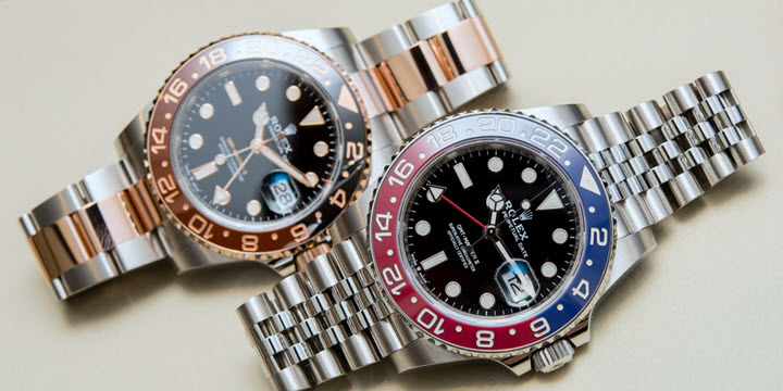 watches black and for rolex all daytona men bamford index sons