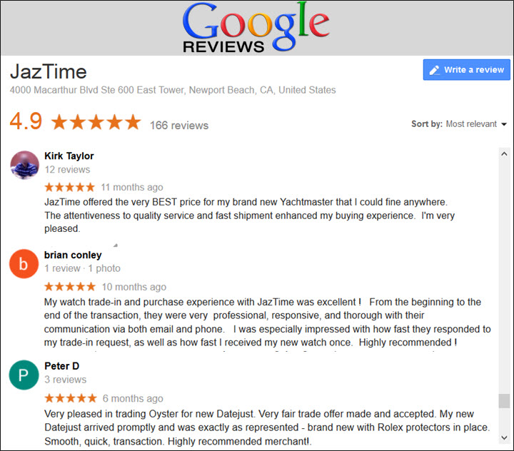 Reviews of Jaztime for sell and trade in transactions