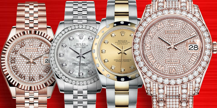 Diamond Rolex Ladies Watches