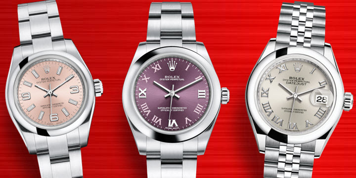 Most Affortable Ladies Womens Rolex Watches