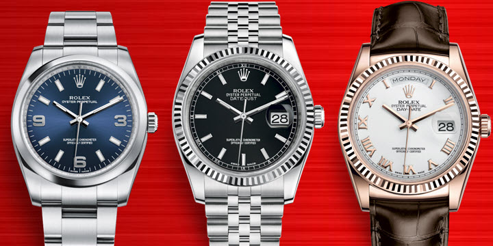 Mens Rolex Watches for small thin wrists.
