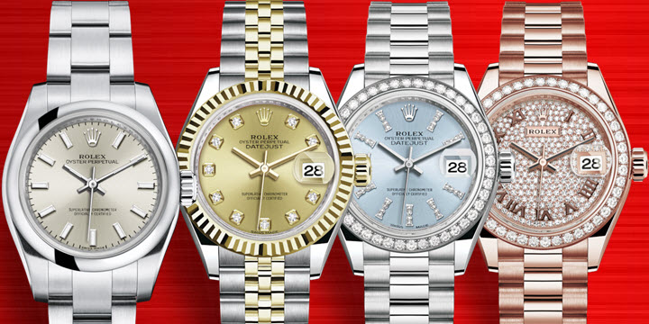 Small Ladies Womens Rolex Watches
