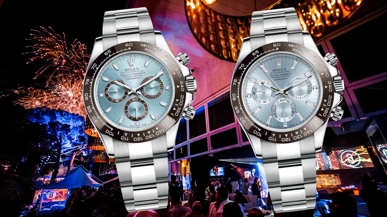 Platinum Rolex Daytona Watches