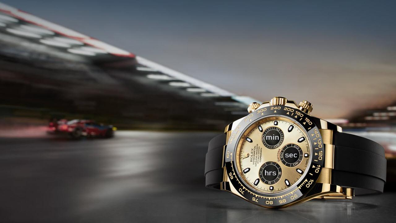 Rolex Cosmograph Dayonta Chronograph 3 Sub-Dials Explanation