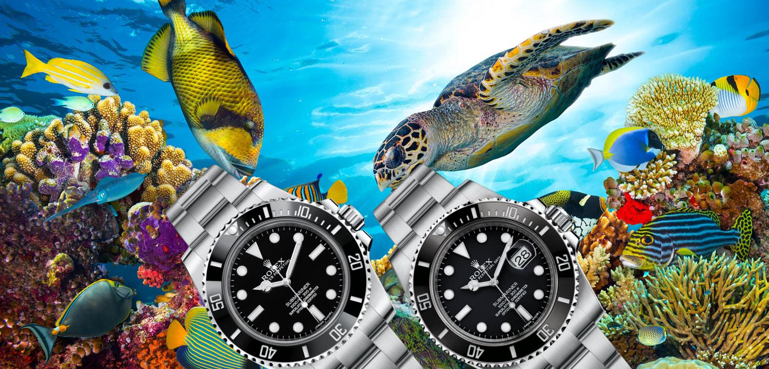 Rolex Submariner Date vs NoDate