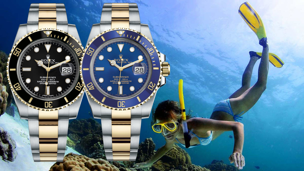 Rolex Submariner Steel Yellow Gold Two Tone