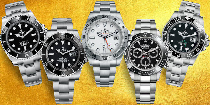 Rolex Sports Watch Limited Production Numbers