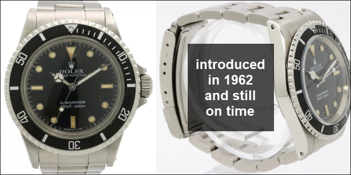 Used Vintage Rolex Submariner 5513 no date