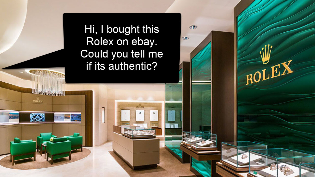 ebay Rolex Authentication