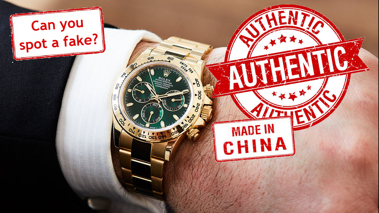 Can you recognize a well made fake Rolex?