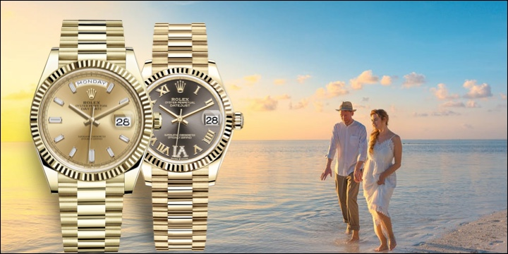 Rolex Day-Date President 40m & 36mm Full Yellow Gold Blog Review