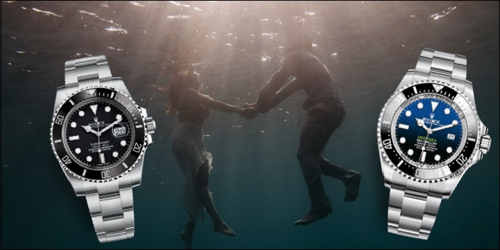 Rolex Deep-sea 44mm & Submariner 40mm Ceramic Bezel Oyster Bracelet Blog Review