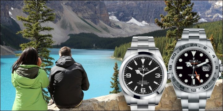 Rolex Explorer I & II Oyster Bracelet Sports Watch Blog Review