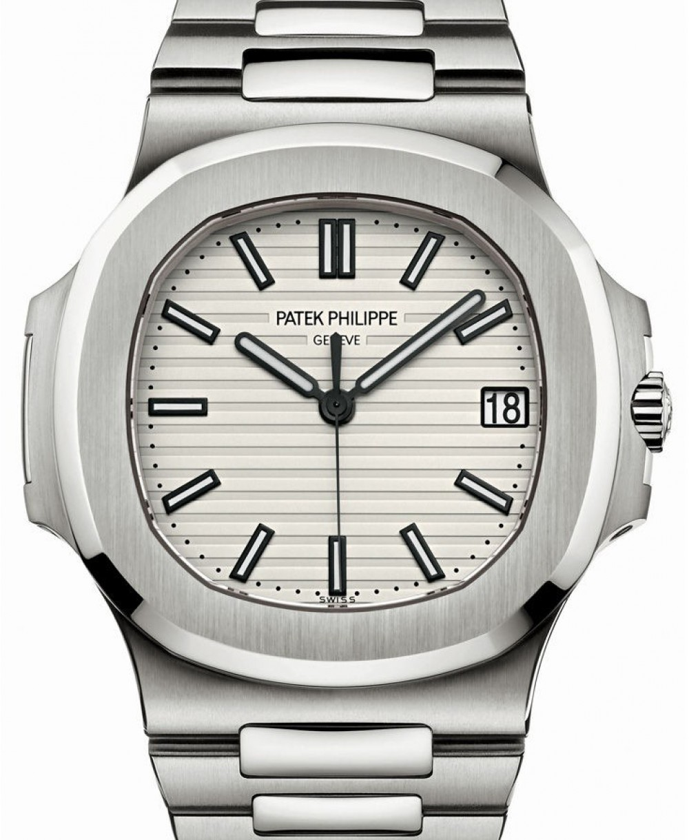 0192c61e81d Patek Philippe Nautilus 5711/1A White Index Stainless Steel Men's 40mm  BRAND NEW