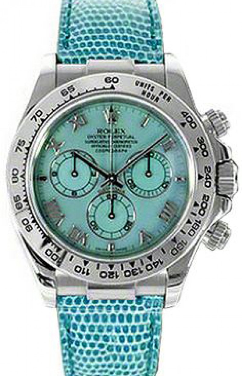 Rolex Cosmograph Daytona 116519 116519 Blurbu Blue Mother