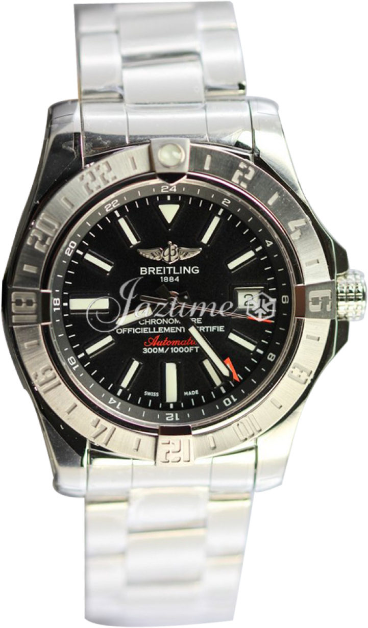 free shipping b0f5b d73bd BREITLING A3239011|BC35|170A AVENGER II GMT 43mm STAINLESS STEEL BRAND NEW