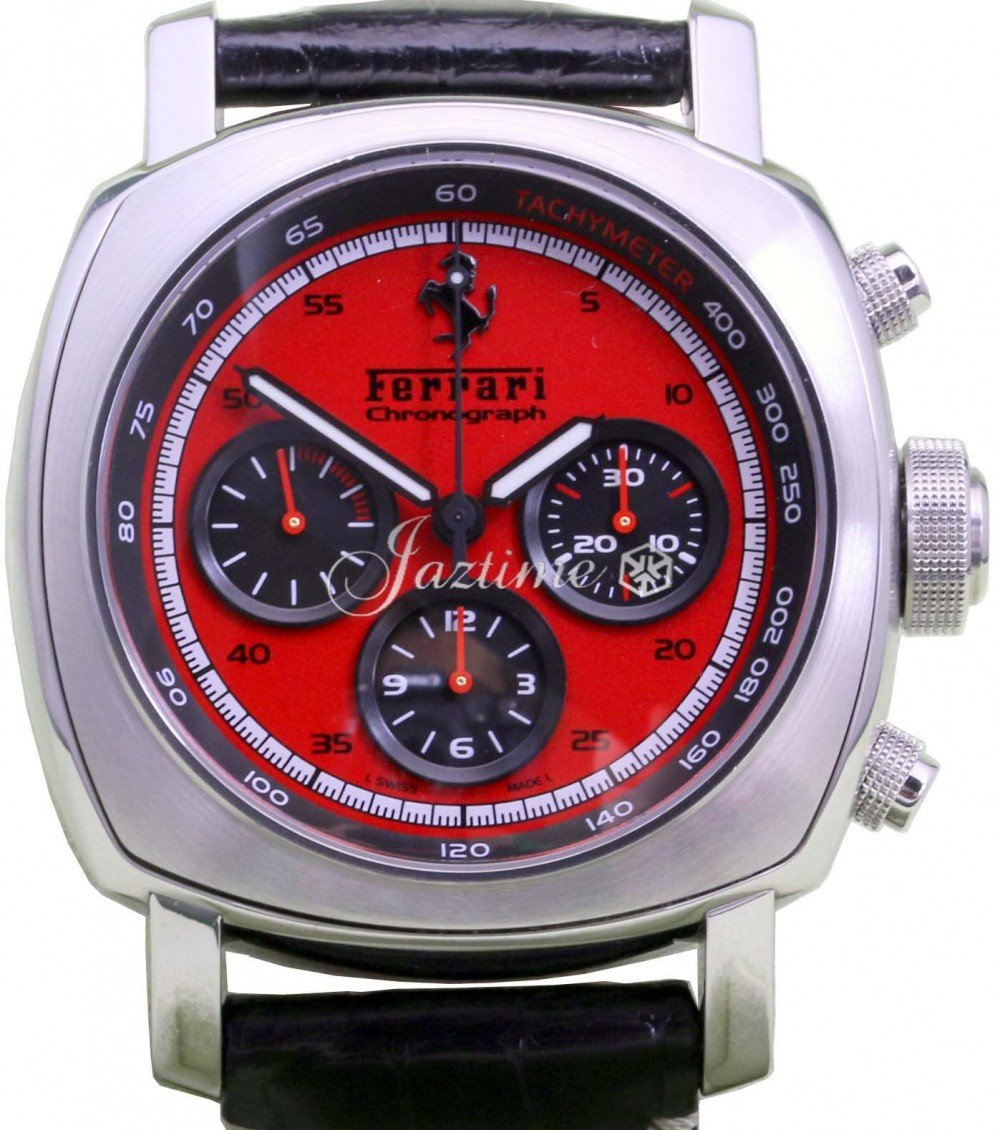 Panerai Ferrari Granturismo Chronograph Fer00013 Red Stainless Steel Automatic