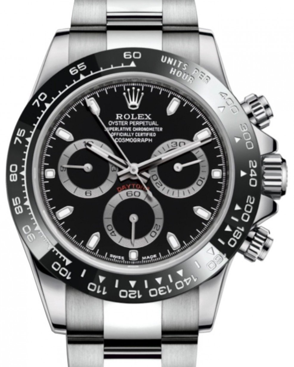 953cc601dccf5 Rolex Cosmograph Daytona 116500LN 116500 40mm Black Cerachrom Black ...