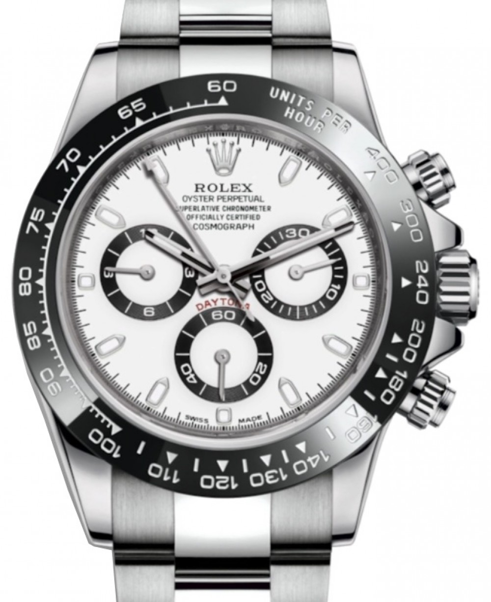 f8f663f3432f8 Rolex Cosmograph Daytona 116500LN 116500 40mm Black Cerachrom White ...