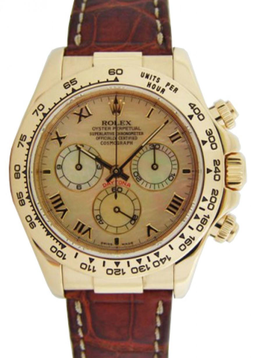 Rolex Cosmograph Daytona 116518 116518 Ymoprbr Yellow