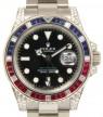 Product Image: Rolex GMT Master II 116759SARU Ruby Sapphire Diamond 18k White Gold
